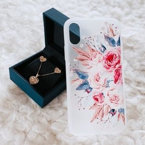 Accessories - FLORAL IPHONE X / XS CASE (0216)